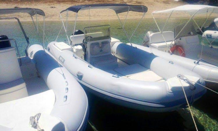 Rent BSC 530 Rigid Inflatable Boat in San Vito Lo Capo, Sicilia