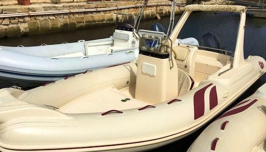Rent 19' Gommone Rigid Inflatable Boat In Marsala, Sicilia