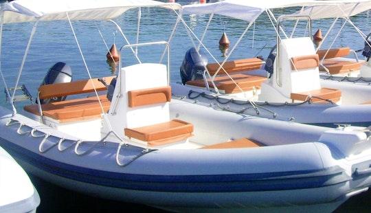 Sea Water Smeralda 180 Power Rib Boat Rental In Arzachena, Sardinia