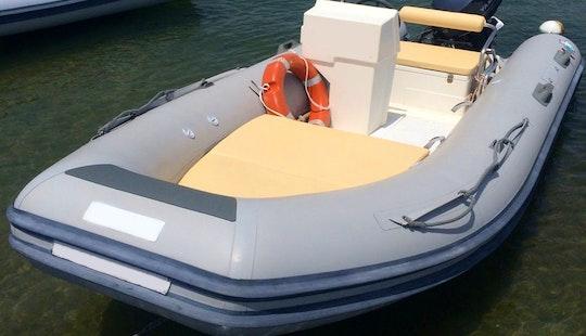 Novamarine Rh460 Power Rib Boat Rental In Arzachena, Sardinia