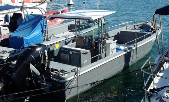 Rent Breeze 8.20 Powerboat In Cagliari