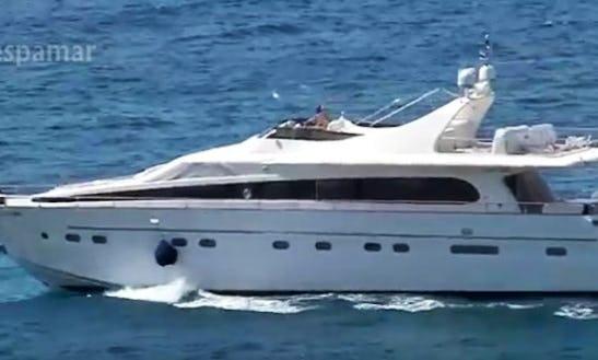 Charter An 80' Doqueve Magestic Gabila Power Mega Yacht In Altea, Comunidad Valenciana