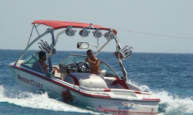 Charter a Bowrider in Skiathos, Greece
