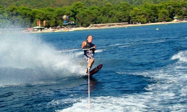Enjoy Waterskiing in Sporades, Greece