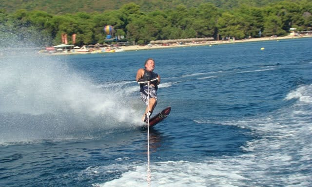 Feel the excitement! Experience Waterskiing in Sporades, Greece