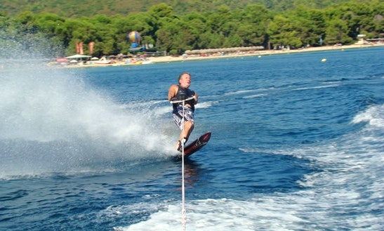 Enjoy Waterskiing In Sporades, Greece