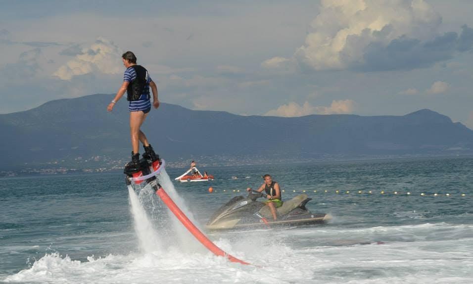 Enjoy Flyboarding in Arbanija, Croatia