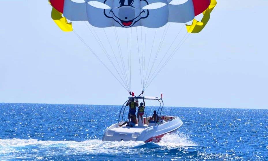 Explore Antalya, Turkey on a Parasailing Adventure