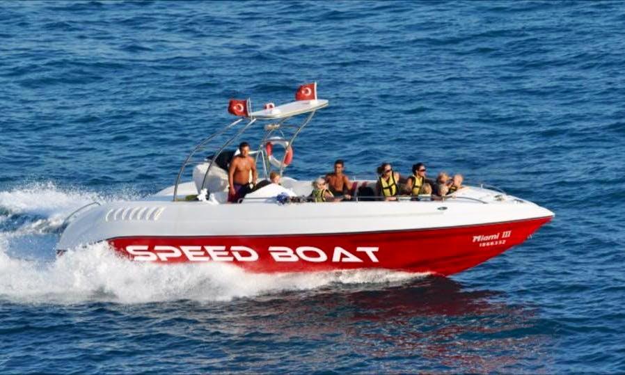 Charter a Bowrider in Antalya, Turkey