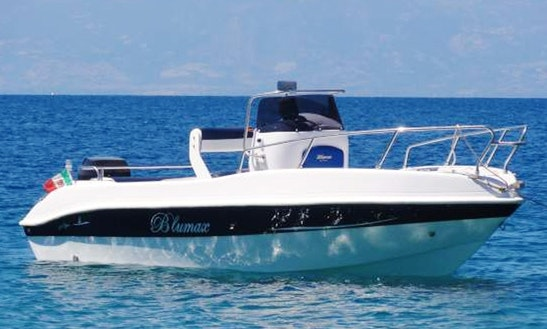 Rent Blumax 710 Open Center Console In Villagonia, Italy