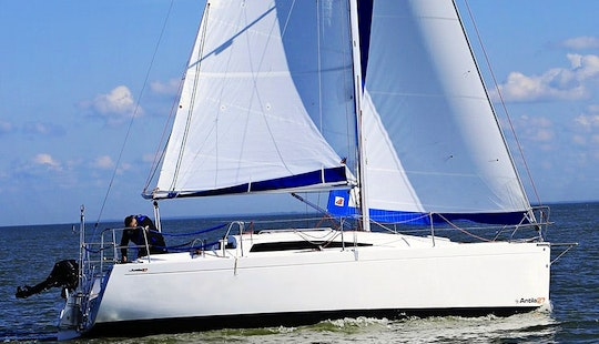 Sailing Charter On A 3 Cabins Antila Cruising Monohull In Tolkmicko, Poland