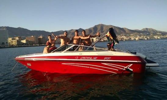 22' Crownline Sport Bowrider Rental In Fuengirola, Spain
