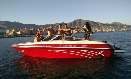22' Crownline Sport Bowrider Rental In Fuengirola, Spain