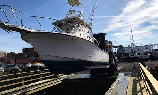 Gradywhite Marlin 300 Walk Around Fishing Charter In New York