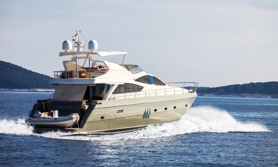 Charter 74' Abacus - Malibu Power Mega Yacht In Šibenik, Croatia