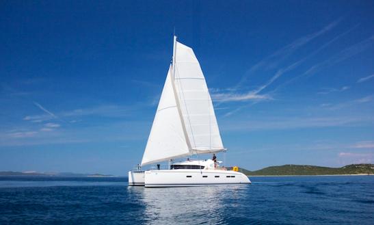 Charter 44' Nautitech Cruising Catamaran In Zadar, Croatia