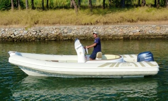 Joker Wide 620 Boat Hire In Orbetello