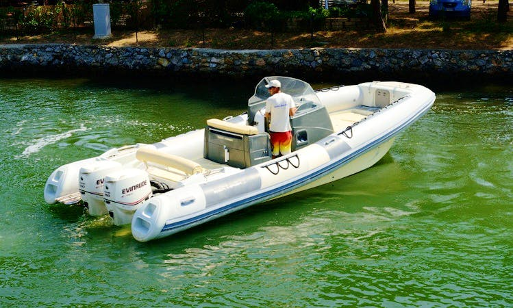 """BIBA 54"" Boat Hire in Orbetello"