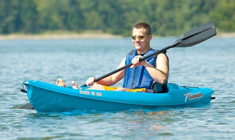 Hourly Kayak Rental in Platanias, Greece