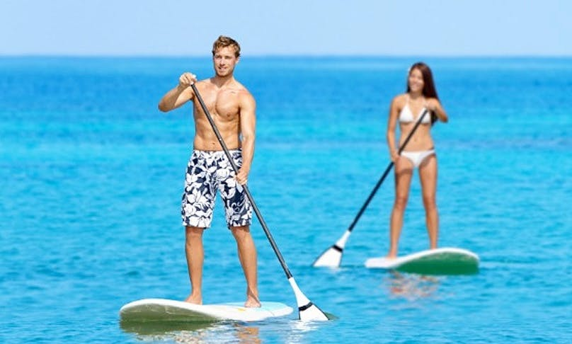 Rent a Stand Up Paddleboard in Platanias, Greece