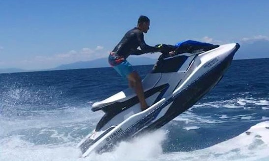 Hit The Water In Chalkidiki, Greece On A Jet Ski