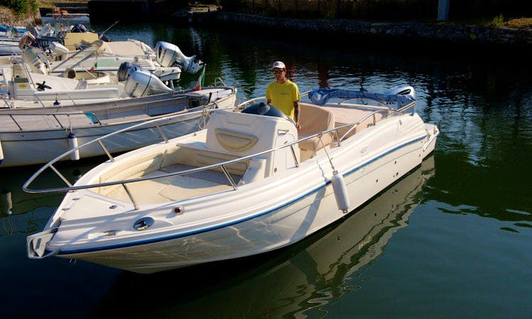 """BIBA 46"" Boat Hire in Orbetello"