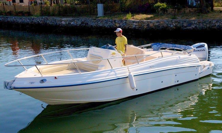 """""""BIBA 60"""" -new 2015- Boat Hire in Orbetello"""