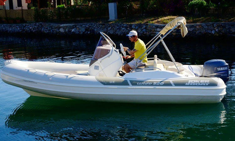 """BIBA 49"" Boat Hire in Orbetello"