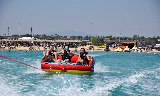 Enjoy Tube Rides In Chalkidiki, Greece