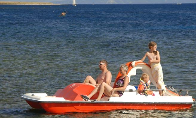 Rent a Paddle Boat in Medulin, Croatia