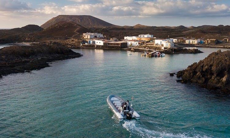 Charter 25' Zodiac Rigid Inflatable Boat in La Oliva, Spain