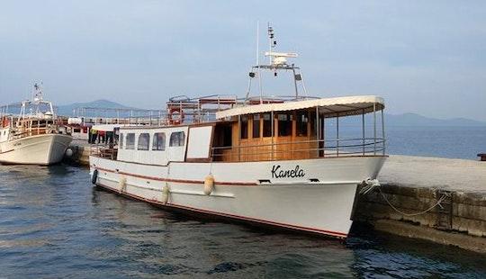 Charter Kanela Passenger Boat In Biograd Na Moru, Croatia