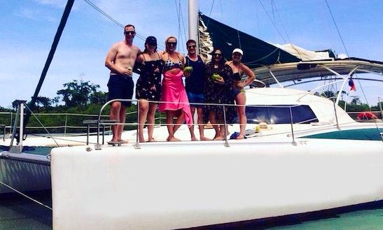 Catamaran For Rent In Bocas Del Toro