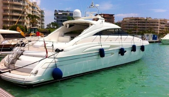 Luxury ''princess V65'' Motor Yacht Charter In Spain