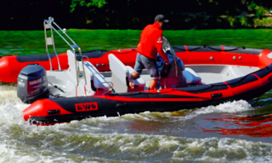 Charter 21' Kws Adventure Rigid Inflatable Boat In Zadar, Croatia
