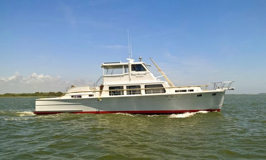 Motor Yacht Rental In Folly Beach