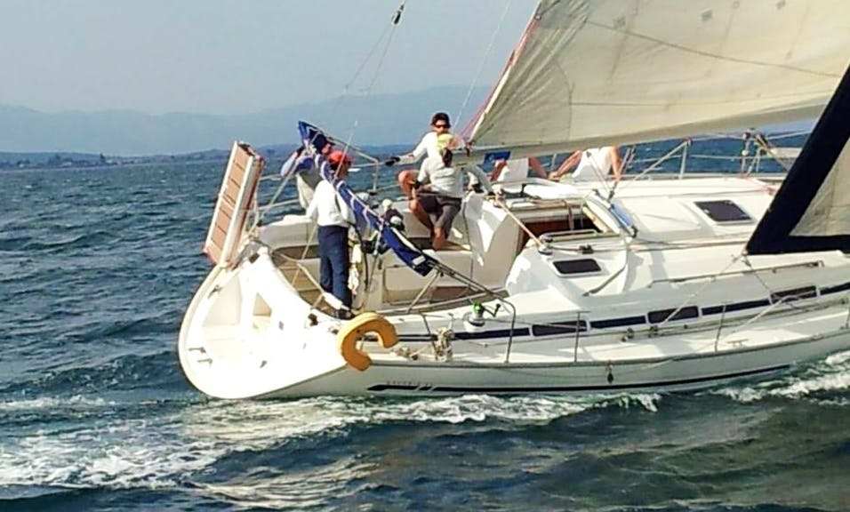 Sailing Daily Cruise with Bavaria 41 in Kavala and Limenaria, Thassos