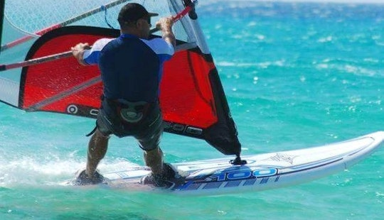 Enjoy Windsurfing In Mellieħa, Malta