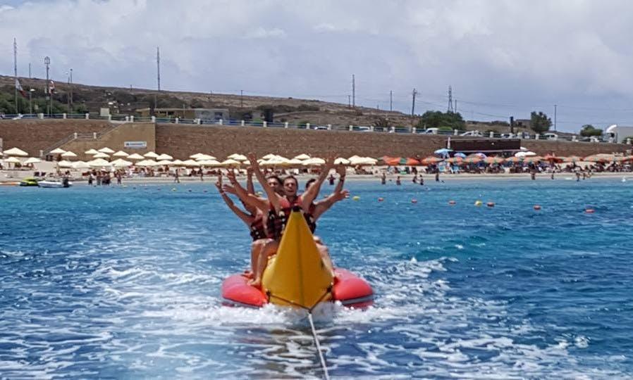 Enjoy Tubing in Mellieħa, Malta