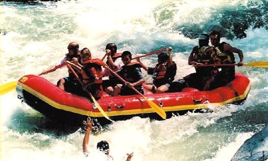 White Water Rafting On The Kern River