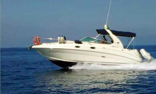 Charter Sea Ray 315 Motor Yacht In Budva, Montenegro