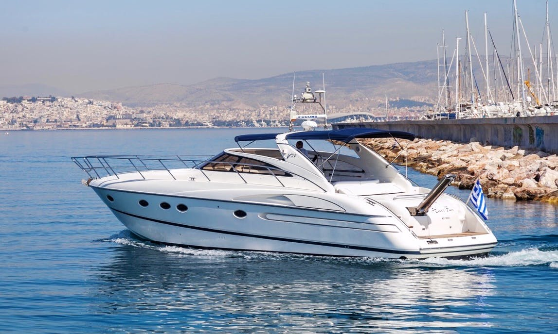 Charter a 10 person Beautiful Yacht in Vouliagmeni, Greece