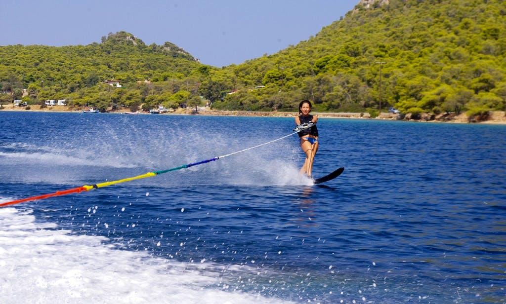 Enjoy Water Skiing in Vouliagmeni, Greece