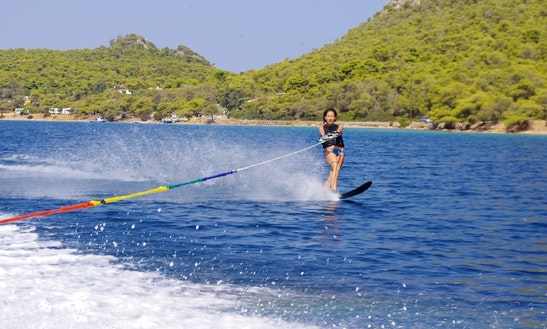 Enjoy Water Skiing In Vouliagmeni, Greece