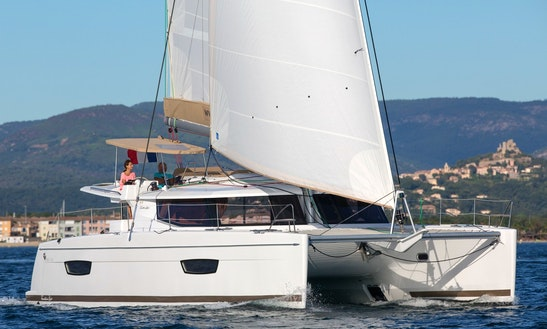 Charter 44' Fountaine Pajot - Lounge Cruising Catamaran In Slano, Croatia