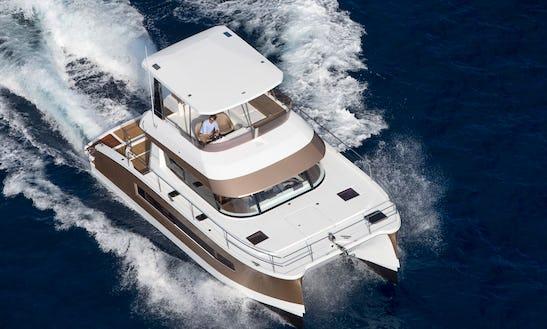 Charter 37' Fountaine Pajot - Jam Power Catamaran In Slano, Croatia