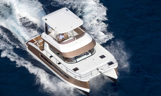 Charter 37' Fountaine Pajot - Jam Power Catamaran In Slano, Croatia