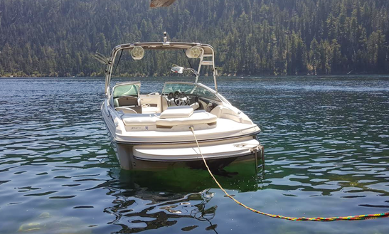 22' Monterrey Fs Ski Boat Rental In Tahoe, California