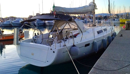 Hanse 445 Sailing Yacht Charter In Cecina, Italy