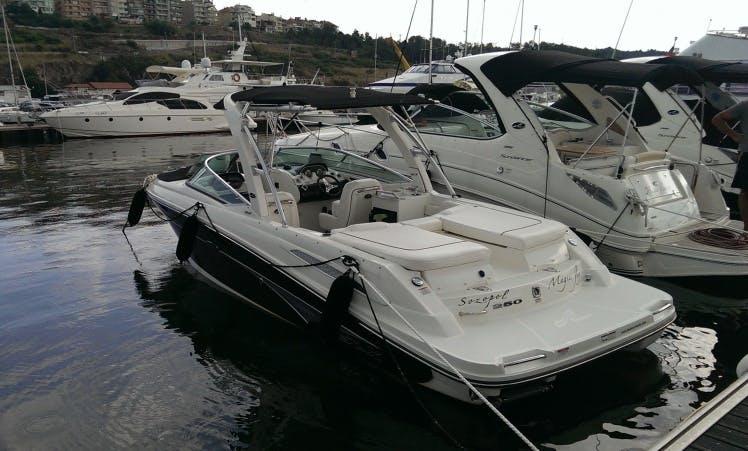 Charter 27' Sea Ray 250 Select Bowrider in Burgas, Bulgaria